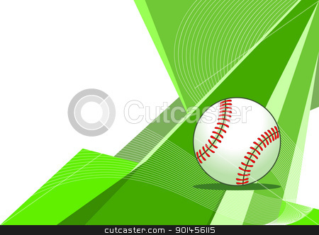 Baseball, abstract design stock vector clipart, Baseball, abstract design by Jupe