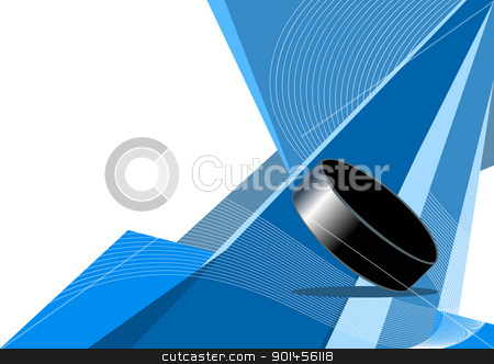 Ice hockey, abstract design stock vector clipart, Ice hockey, abstract design by Jupe