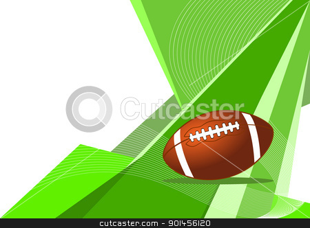 American football, abstract design stock vector clipart, American football, abstract design by Jupe