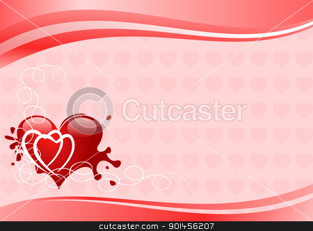 Valentine illustration stock vector clipart, Valentine illustration by Jupe