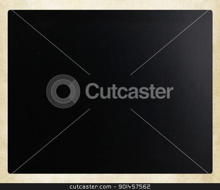 Blackboard / chalkboard texture. Empty blank black chalkboard. stock photo, Blackboard / chalkboard texture. Empty blank black chalkboard. by Nenov Brothers Images