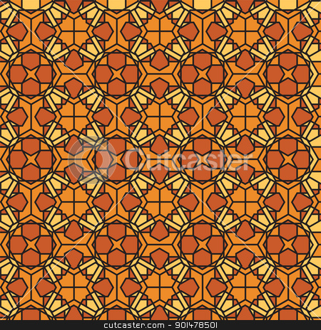Stained Glass Mosaic Pattern, Stained Glass Mosaic Pattern