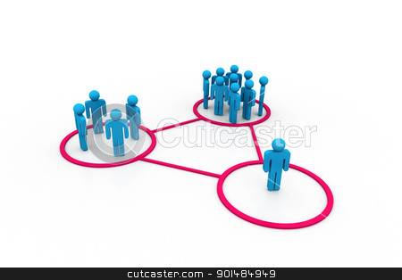 Business network	 stock photo, Business network	 by dileep