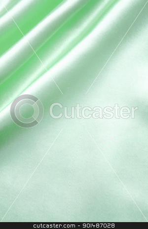 Smooth elegant green silk as background stock photo, Smooth elegant green silk can use as background by Morozova Oxana