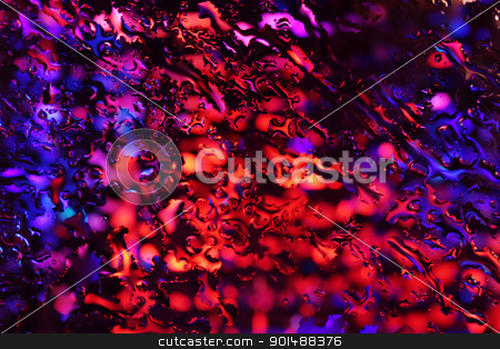 Abstract Red and Purple Background stock photo, Abstract Red and Purple Flames Background Texture by ekipaj