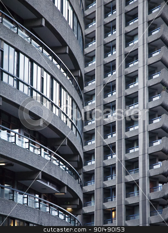 Barbican, London stock photo, architecture of London by Tomek Węgrzynek