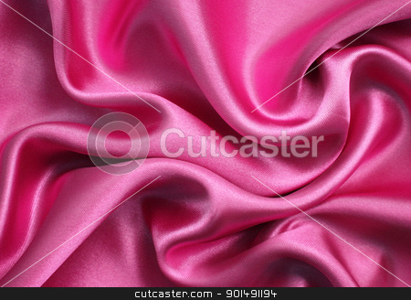 Smooth elegant pink silk as background stock photo, Smooth elegant pink silk can use as background by Morozova Oxana