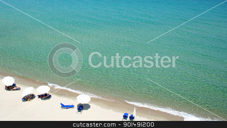 Greece. Halkidiki. Beach  stock photo, Greece. Halkidiki peninsula. Beach with white sand by Morozova Oxana