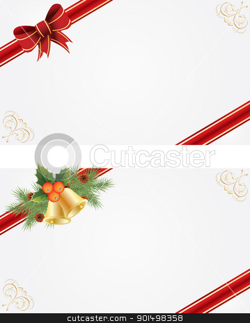 Christmas frames stock vector clipart, Christmas frames for creating greeting cards by Rimantas Abromas