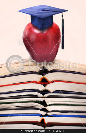 School stock photo, College and graduation . by WScott
