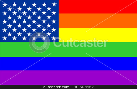 usa gay flag stock photo, very big size usa gay flag illustration by Tudor Antonel adrian