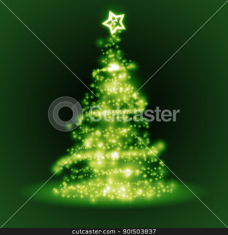 green christmas tree stock photo, An image of a nice green christmas tree by Markus Gann