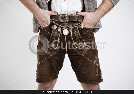 Bavarian tradition stock photo, An image of a traditional bavarian man by Markus Gann