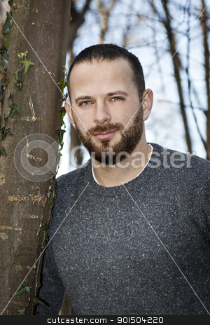 man with beard stock photo, An image of a handsome man with a beard by Markus Gann