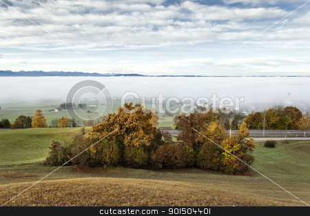 autumn scenery stock photo, An image of a nice autumn landscape by Markus Gann