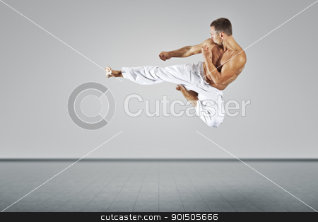 martial arts master stock photo, An image of a martial arts master by Markus Gann