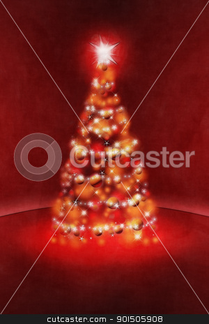 red christmas stock photo, An image of a nice red christmas background by Markus Gann