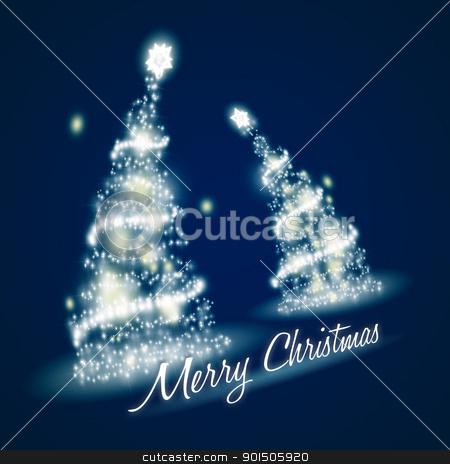 blue christmas stock photo, An image of a nice blue christmas background by Markus Gann
