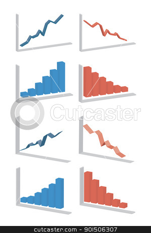 business diagram stock vector clipart,  by metrue