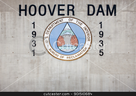 Hoover Dam stock photo, Hoover Dam, Boulder City, Nevada, USA by Bryan Mullennix