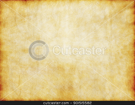 old yellow brown vintage parchment paper texture stock photo, grungy old yellow brown vintage parchment paper texture by Phil Morley