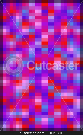 Vivid Double Pixel Background stock photo, Vivid abstract background of double pixels in hues of red, purple and violet by Stephen Gibson