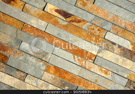 textured brick-wall  stock photo, Details shof of a textured brick-wall  by vladacanon1