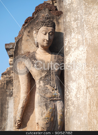 Beautiful Buddha stock photo, Beautiful Buddha by Paisan  Changhirun