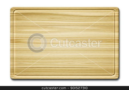 wooden cutting board stock photo, An image of a beautiful wooden cutting board background by Markus Gann