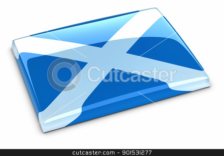 Flag of Scotland stock photo, Flag of Scotland by ayzek