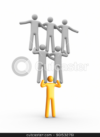 Leadership stock photo, Leadership by ayzek