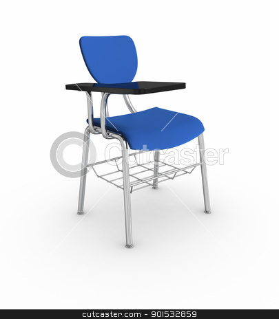 School Desk stock photo, School Desk by ayzek