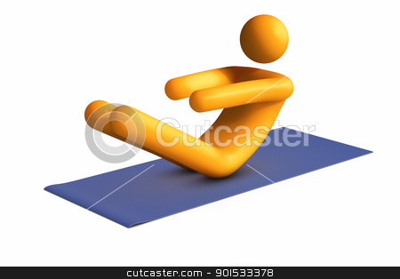 Exercising stock photo, Exercising by ayzek