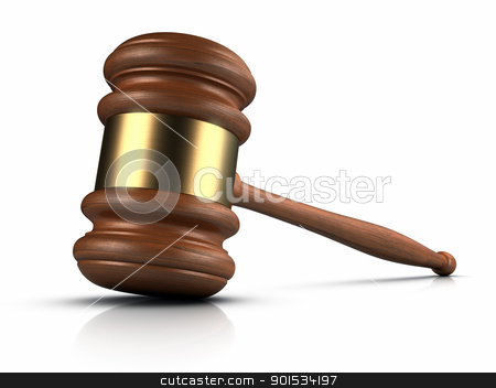 Gavel stock photo, Gavel. by ayzek