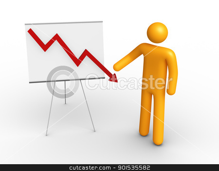 Graph Chart stock photo, Graph Chart by ayzek