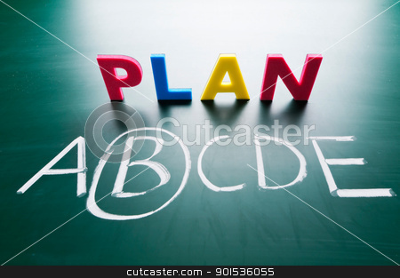 Choose a best choice stock photo, Choose a best choice, hand writing words on blackboard by Lawren