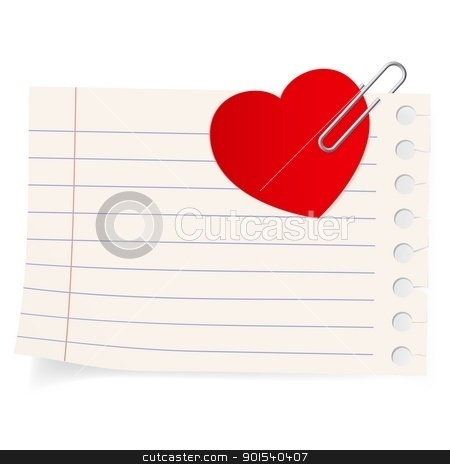 Love letter icon.  stock photo, Love letter icon. Illustration on white background by dvarg