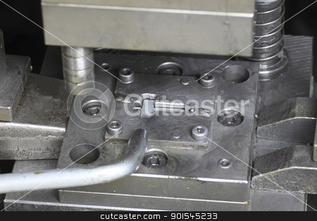Die (manufacturing) stock photo, close up a  Die (manufacturing)  in Kanagawa, Japan by yoshiyayo