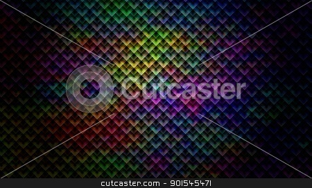 Kaleidoscope Color Shade stock photo, Abstract kaleidoscope background wallpaper or backdrop by Henrik Lehnerer