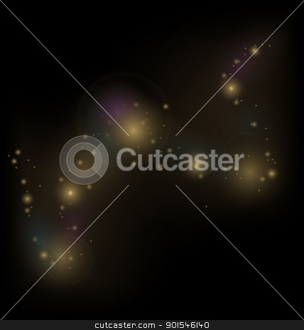 abstract background with cosmic dust stock vector clipart, Illustration abstract background with cosmic dust - vector by -=Mad Dog=-