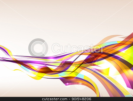 Abstract Colorful Background Flow stock vector clipart, Abstract colorful background flow. Eps 10 transparences used on other than normal mode. Gradient mesh used.