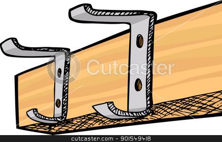 Garderobe clipart  Clip Art Coat Rack – Clipart Free Download