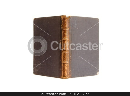 Antique book stands isolated on white background stock photo, Antique book stands isolated on white background by Shlomo Polonsky