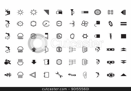 version of car parts icon set  stock photo,  version of car parts icon set  by photomyheart