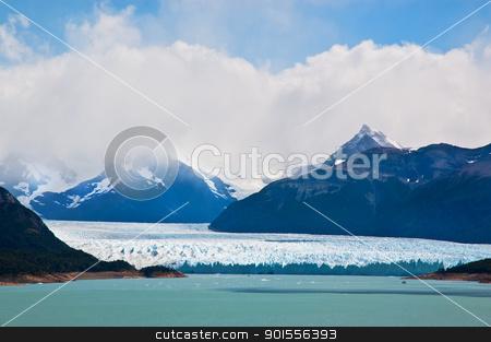 Perito Moreno glacier, patagonia, Argentina. stock photo, Perito Moreno glacier, patagonia, Argentina. Panoramic view. by Pablo Caridad