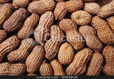 Peanuts background. stock photo, Peanuts background on a wooden table. by Pablo Caridad