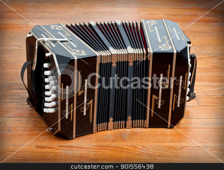 Bandoneon. stock photo, Traditional tango musical instrument, called bandoneon. by Pablo Caridad