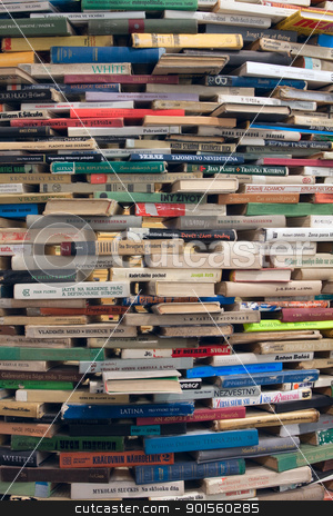 Books background stock photo, Books background by vtorous
