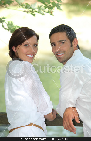Couple outside stock photo, Couple outside by photography33