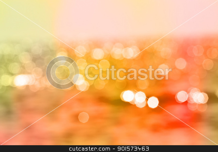 Color Bokeh for use at graphic design  stock photo, Warm color Bokeh for use at graphic design  by Artush